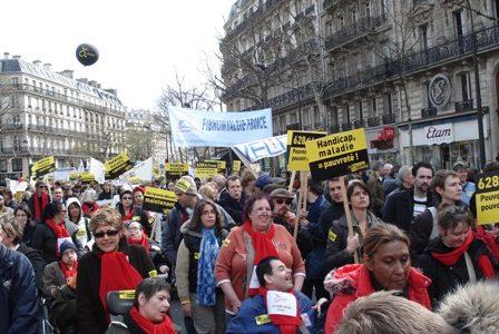 Manifestation APF 2008