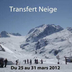 Transfert Neige