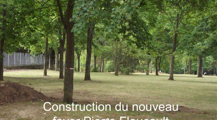 Construction de la nouvelle résidence