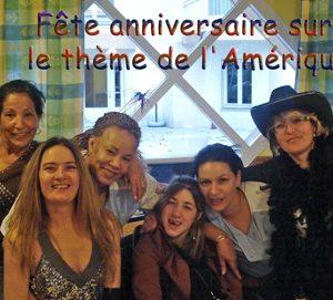 Fête anniversaire sur le thème de l'Amérique